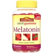 Nature Made Melatonin Adult Gummy 80 Pk.