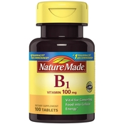 Nature Made Vitamin B-1 100 Mg Dietary Supplement Tablets 100 Pk.