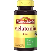 Nature Made Melatonin 3 mg Tablets 120 Pk.
