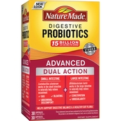 Nature Made Digestive Probiotics Advanced Dual Support Dietary Supplement 60 Pk.