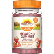 Sundown Naturals Melatonin Gummies 60 Pk.