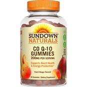 Sundown Naturals CO Q-10 200 Mg Gummies 50 Pk.