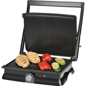 Kalorik Stainless Steel Panini Maker and Grill