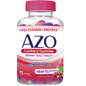 Azo Cranberry Gummies 72 Ct.