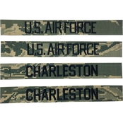 Embroidered Air Force RABU Combo Pack No Velcro Non-Standard 75 in 4-Pack