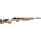 Springfield M1A Precision Adjustable 308 Win 22 in. Barrel 10 Rds Rifle FDE
