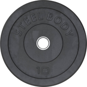 Steelbody 10 lb. Rubber Olympic Plate