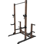 Steelbody Cage System and Dumbbell Plate Storage Rack