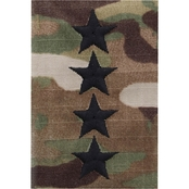 Army Rank General O-10 Velcro P-S Subdued (OCP)