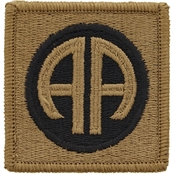 Army Patch 82nd Airborne Velcro Subdued (OCP)