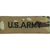 Army Label Embroidered Digital 5 in. Sew-on Subdued (OCP)