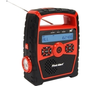 First Alert Rugged Weather Band Radio with S.A.M.E. and Weather Alert