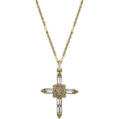 Symbols of Faith Crystal Cross Pendant