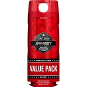 Old Spice Red Zone Swagger Body Wash 2 pk.