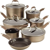 Anolon Advanced Bronze Cookware 12 Pc. Set