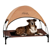 K&H Large Pet Cot Canopy Tan