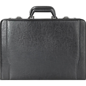 Solo Classic 16 in. Leather Attache