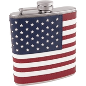 True Fabrications Old Glory American Flask