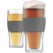 True Fabrications 16 oz. Host Freeze Pint Glass 2 Pk.