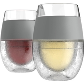 True Fabrications Host Freeze Wine Glass 2 pk.