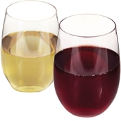 True 10 oz. Flexi Stemless Wine Glass 2 pk.
