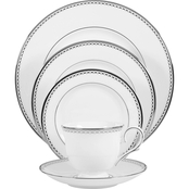 Lenox Pearl Platinum 5 pc. Place Setting