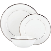 Lenox Solitaire White 3 pc. Place Setting