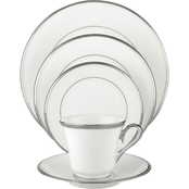 Lenox Solitaire White 5 pc. Place Setting