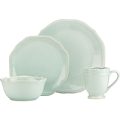 Lenox French Perle Bead Ice Blue 4 pc. Place Setting