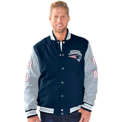 G-III Sports NFL New England Patriots Field Goal Commemorative Jacket