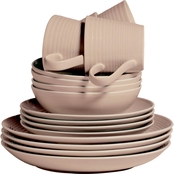 Royal Doulton Gordon Ramsay Maze Taupe 16 pc. Dinnerware Set