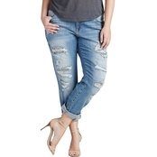Lucky Brand Plus Size Reese Boyfriend Jeans