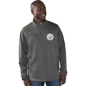 G-III Sports by Carl Banks NFL Pittsburgh Steelers Scrimmage 3 Layer Jacket