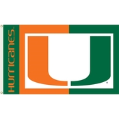 Annin Flagmakers NCAA Miami Hurricanes Flag