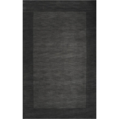 Surya Mystique Area Rug, Black
