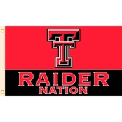 Annin Flagmakers NCAA Texas Tech Red Raiders Flag