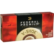 Federal Vital-Shok .308 Win 150 Gr. Trophy Copper Lead Free, 20 Rounds