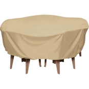 Smart Living Round Table Set Cover
