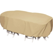 Smart Living 92 in. Oval Table Set Cover