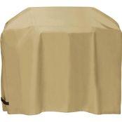 Two Dogs Designs 54 In. Cart Style Grill Cover, Khaki