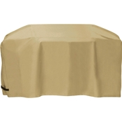Two Dogs Designs 88 In. Cart Style Grill Cover, Khaki