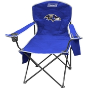 Jarden Sports Licensing NFL Baltimore Ravens Cooler Quad Chair