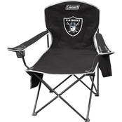 Jarden Sports Licensing NFL Oakland Raiders Cooler Quad Chair