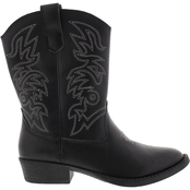 Deer Stags Ranch Boys Cowboy Boots