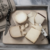 The Gourmet Market Great Goat Cheeses of Europe Gift Basket