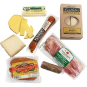 The Gourmet Market New England Cheese and Charcuterie Collection Gift Basket