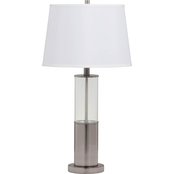Signature Design by Ashley Norma Metal Table Lamp with Shade