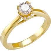 14K Gold 3/5 CTW Diamond Engagement Ring