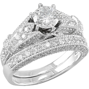 14K Gold 1 2/3 CTW Diamond Bridal Set