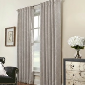 Commonwealth Home Fashions Belgique Thermalogic Back Tab Drapery Panel 50 X 84